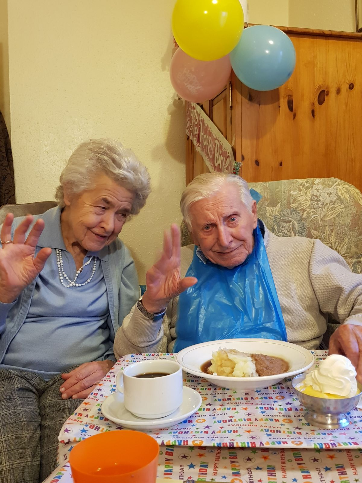 Resident care at Spencer House